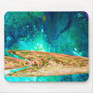 Deep water gold fish mouse mat