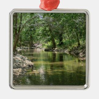 Deep Woods Creek Christmas Ornament