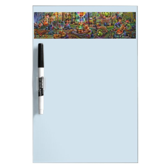 DeepDream Pictures, Cathedral Dry Erase Board