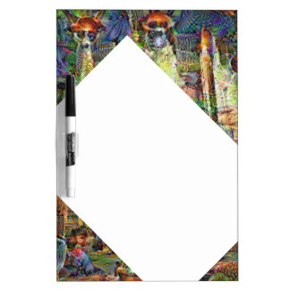 DeepDream Pictures, Cathedral Dry Erase Whiteboards