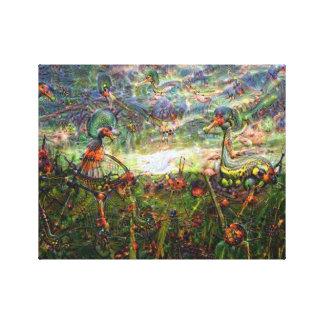 DeepDream Pictures, Landscapes Gallery Wrap Canvas
