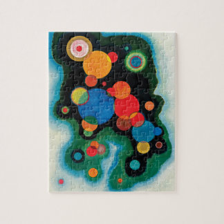 Deepened Impulse by Wassily Kandinsky Jigsaw Puzzle