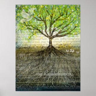 Deeper roots print