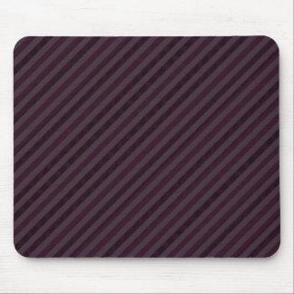Deeply Purple Dark Stripes - Custom Pattern Mousepad