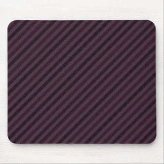 Deeply Purple Dark Stripes - Custom Pattern Mouse Pad