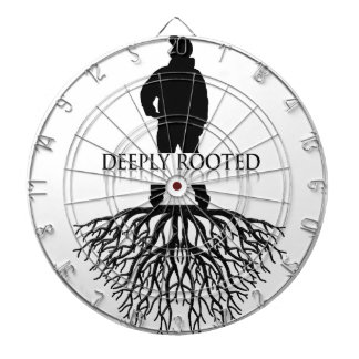 Deeply Rooted Dartboard