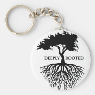 Deeply Rooted Key Ring