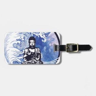 Deepwater Buddha Wave Luggage Tag