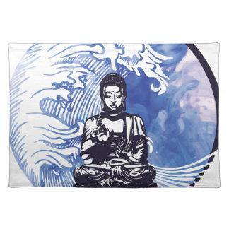 Deepwater Buddha Wave Placemat