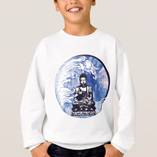 Deepwater Buddha Wave Sweatshirt