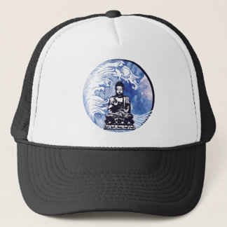 Deepwater Buddha Wave Trucker Hat