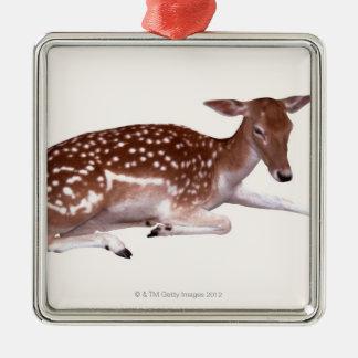 deer 2 christmas ornament