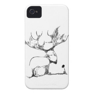 Deer and Rose iPhone 4 Cases