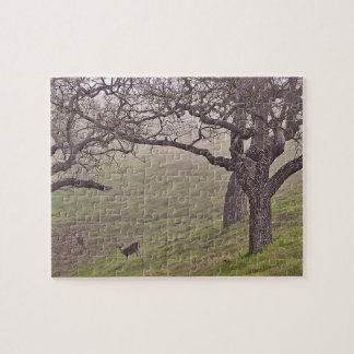 Deer and Trees Jigsaw Puzzle