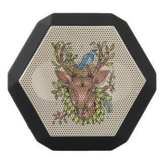Deer Antler Bird Nest Black Bluetooth Speaker