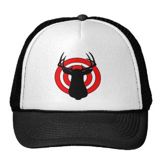 Deer Antlers Bullseye Cap