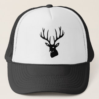 Deer antlers deer antlers game moose deer steam trucker hat