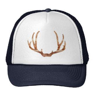 deer antlers deer hunter hat cap design