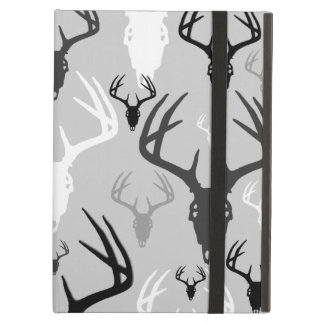 Deer Antlers Skull pattern iPad Air Covers