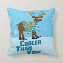 Deer Are So Cool Cushion