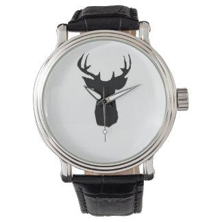 deer art in watch