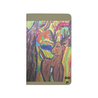 Deer art journal