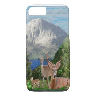 Deer art phone case