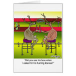 Deer Asking For a Hunting License