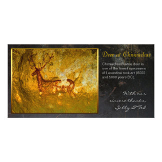 Deer at Chimiachas Picture Card