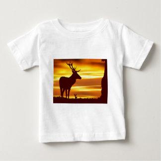 Deer at Dusk Baby T-Shirt