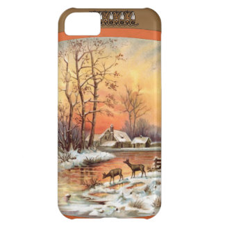 Deer at sunset iPhone 5C case