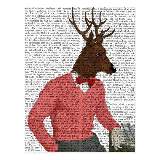 Deer At The Bar Postcard