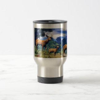 Deer at the River Coffee Mug