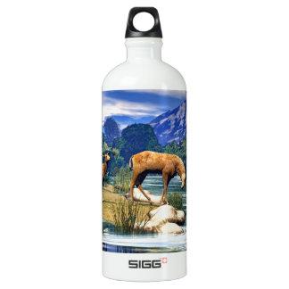 Deer at the River SIGG Traveller 1.0L Water Bottle
