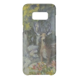 Deer at the Waterfall Uncommon Samsung Galaxy S8 Case