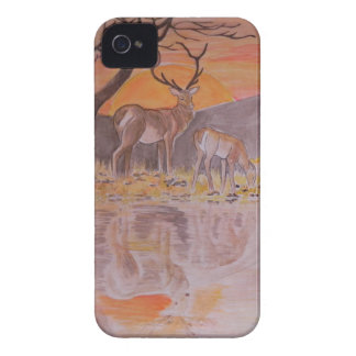 Deer blackberry bold Case