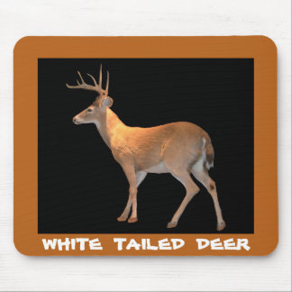 Deer (Buck) White-Tailed Mouse Mat