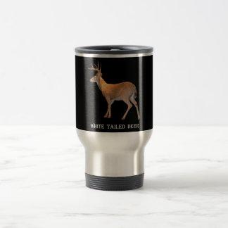 Deer (Buck) White-Tailed Travel Mug