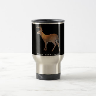 Deer (Buck) White-Tailed Travel Mug