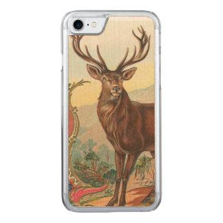 Deer Carved iPhone 8/7 Case