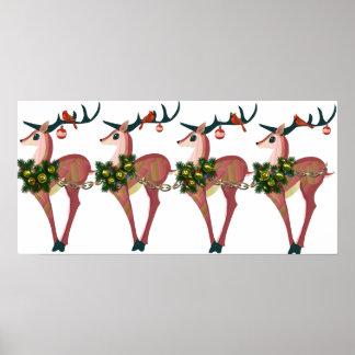 Deer Cheer Print