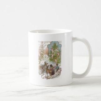 Deer, Children, Cherubs and Candles Coffee Mugs