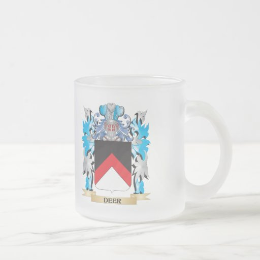 Deer Coat of Arms - Family Crest Coffee Mug