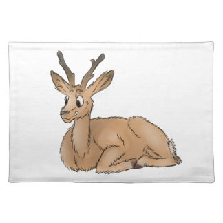 Deer - Coloured Sketch Placemat