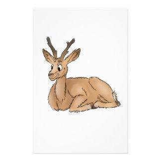 Deer - Coloured Sketch Stationery