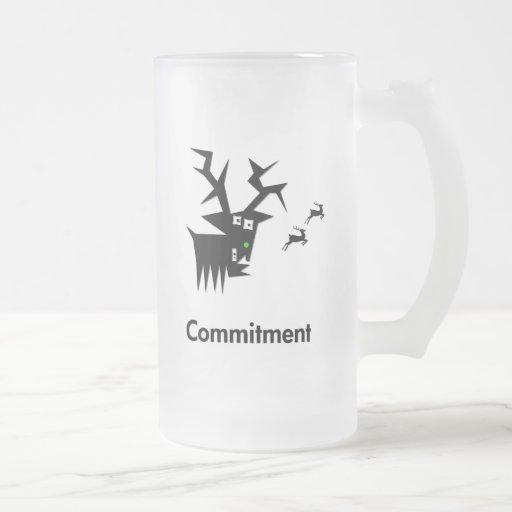 Deer Commitment Coffee Mugs