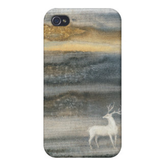 Deer  cover for iPhone 4