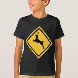 Deer Crossing Symbol T-Shirt
