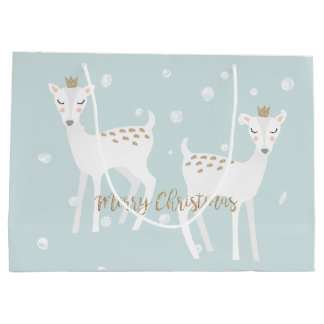 Deer - Cute Christmas Gift Bag