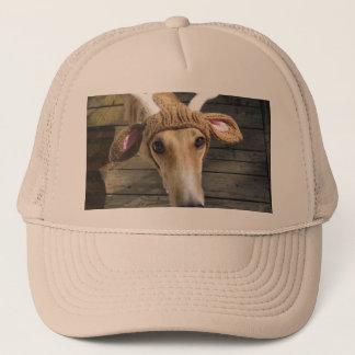 Deer dog - cute dog - whippet trucker hat